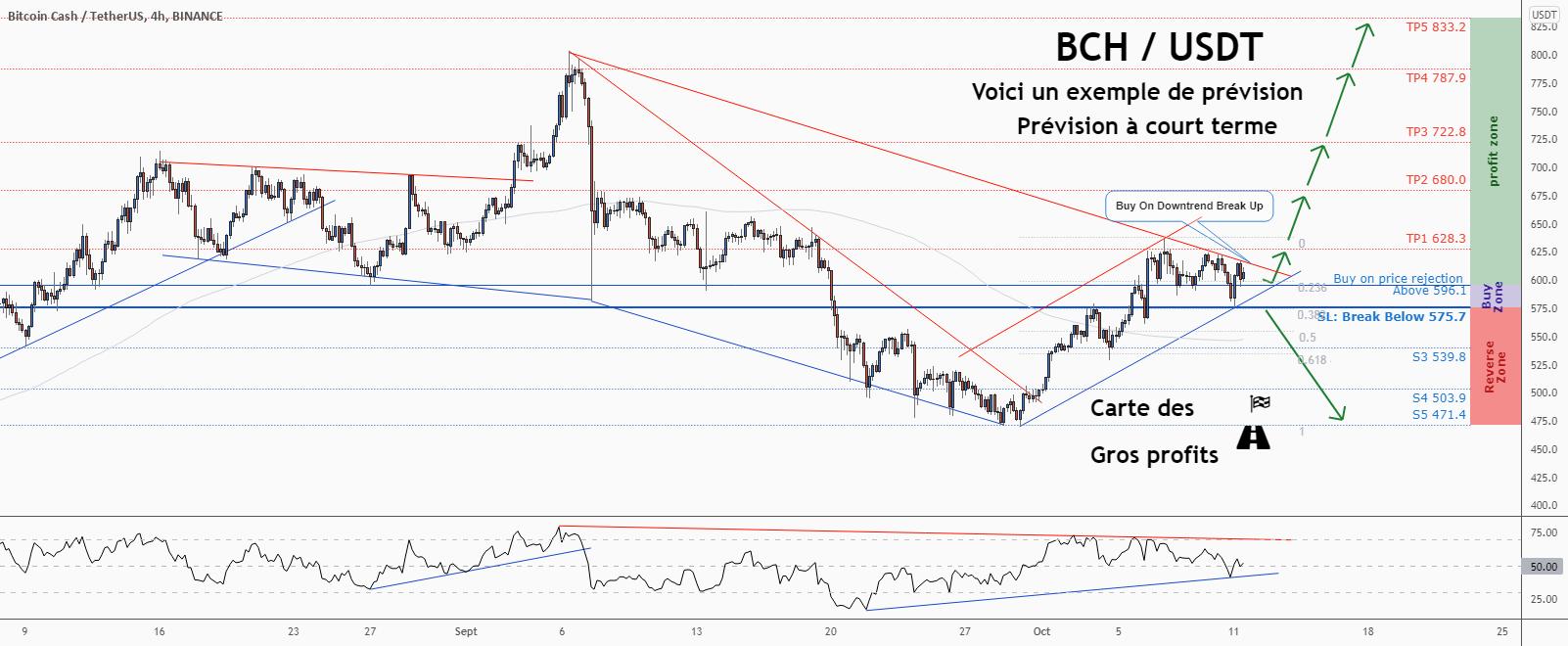 💡Ne manquez pas cette grande opportunité d'achat de BCHUSD pour BINANCE:BCHUSDT par ForecastCity_Francais